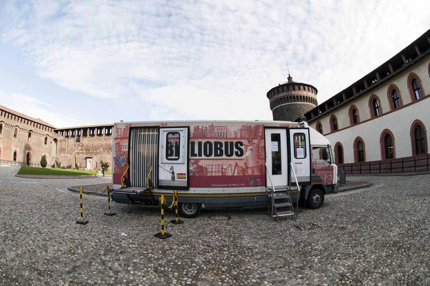 Iniziative a Milano: Bibliobus