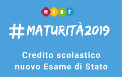 #Maturità2019: Crediti scolastici e formativi