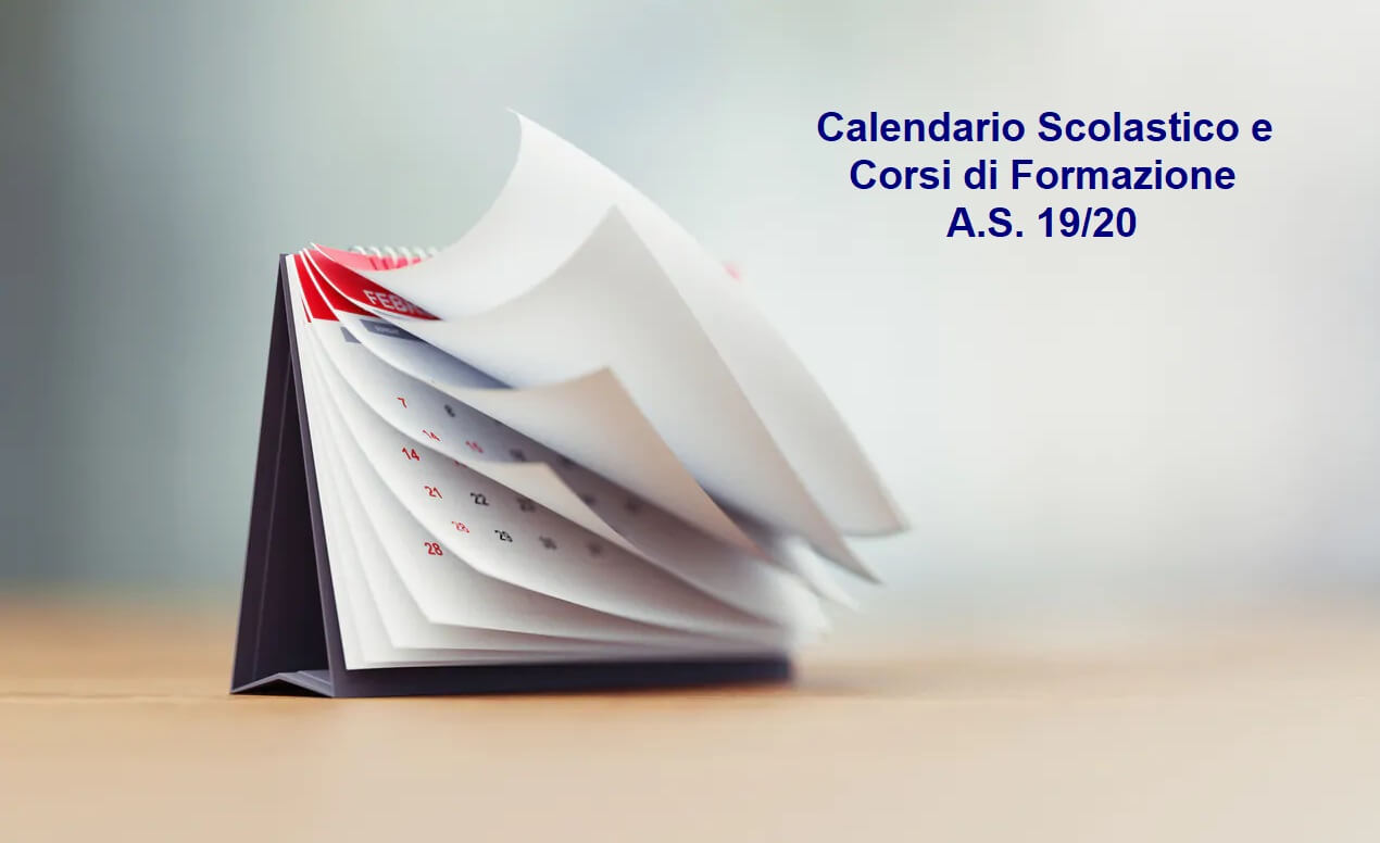 Calendario Corsi A.S.19/20