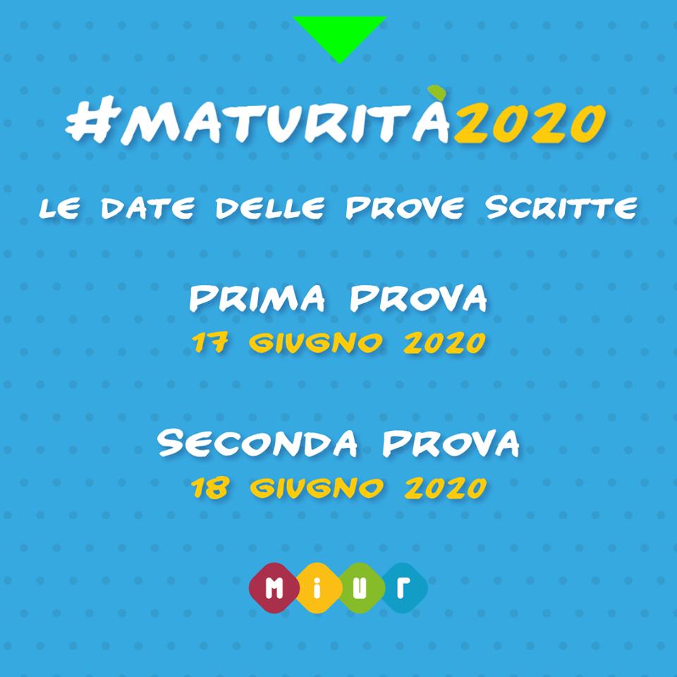 #Maturità 2020